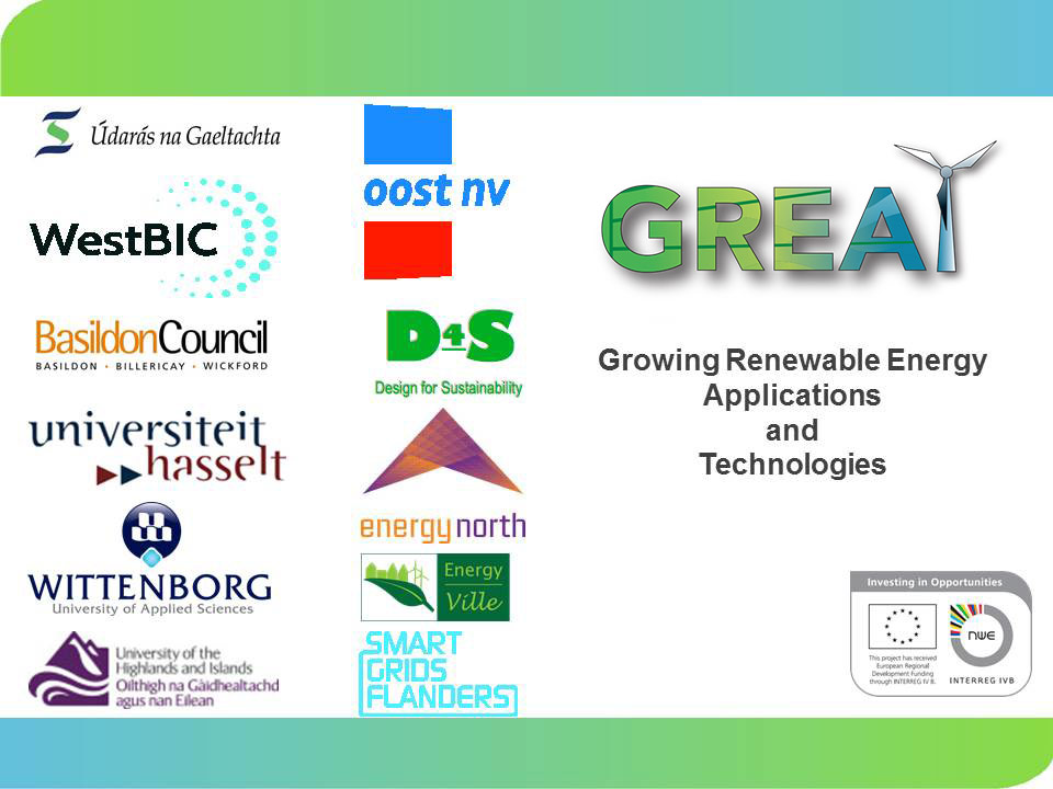 GREAT - Growing Renewable Energy Applications and Technologies