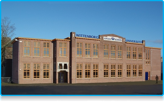 Wittenborg University - new location at Spoorstraat 23 Apeldoorn