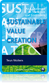 Sustainable value creation: as a challenge to managers and controllers [Paperback]  Teun Wolters (Author)