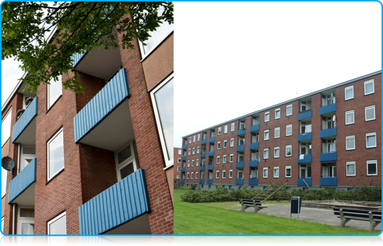 Wittenborg University student apartments