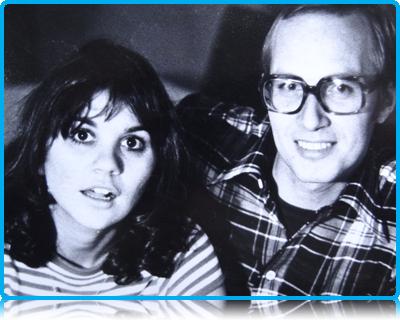 Henk Penseel with Linda Ronstadt