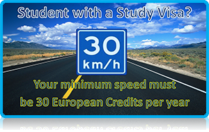 """30 EC Credits -Minimum Speed Limit for Non-Eu students!"" - Wittenborg Launches Study Speed Limit Campaign for its non-EU students!"