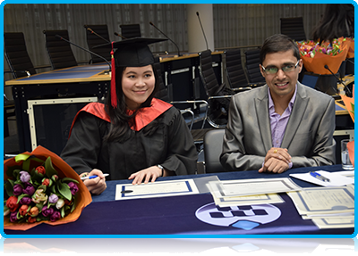 Bernadette Yolanda, who did an MSc in International Event Management at Wittenborg UIniversity