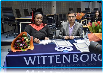 Lucy Omwoha - inspiring Wittenborg University Master Graduate