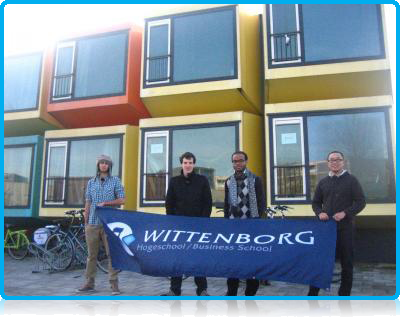 Wittenborg University provides student housing to its Dutch and International students for the first year of their studies in Apeldoorn, and students are housed in apartments and also independent units - the so-called 'Spaceboxes'!