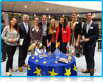 Wittenborg Students Participate in Europe & Apeldoorn Debate at the city hall in Apeldoorn!