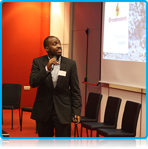 Ishebo Twijukye at Wittenborg University Africa Event 2014