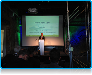 Henk Janssen at the CleanTech Opening in Zutphen 2014