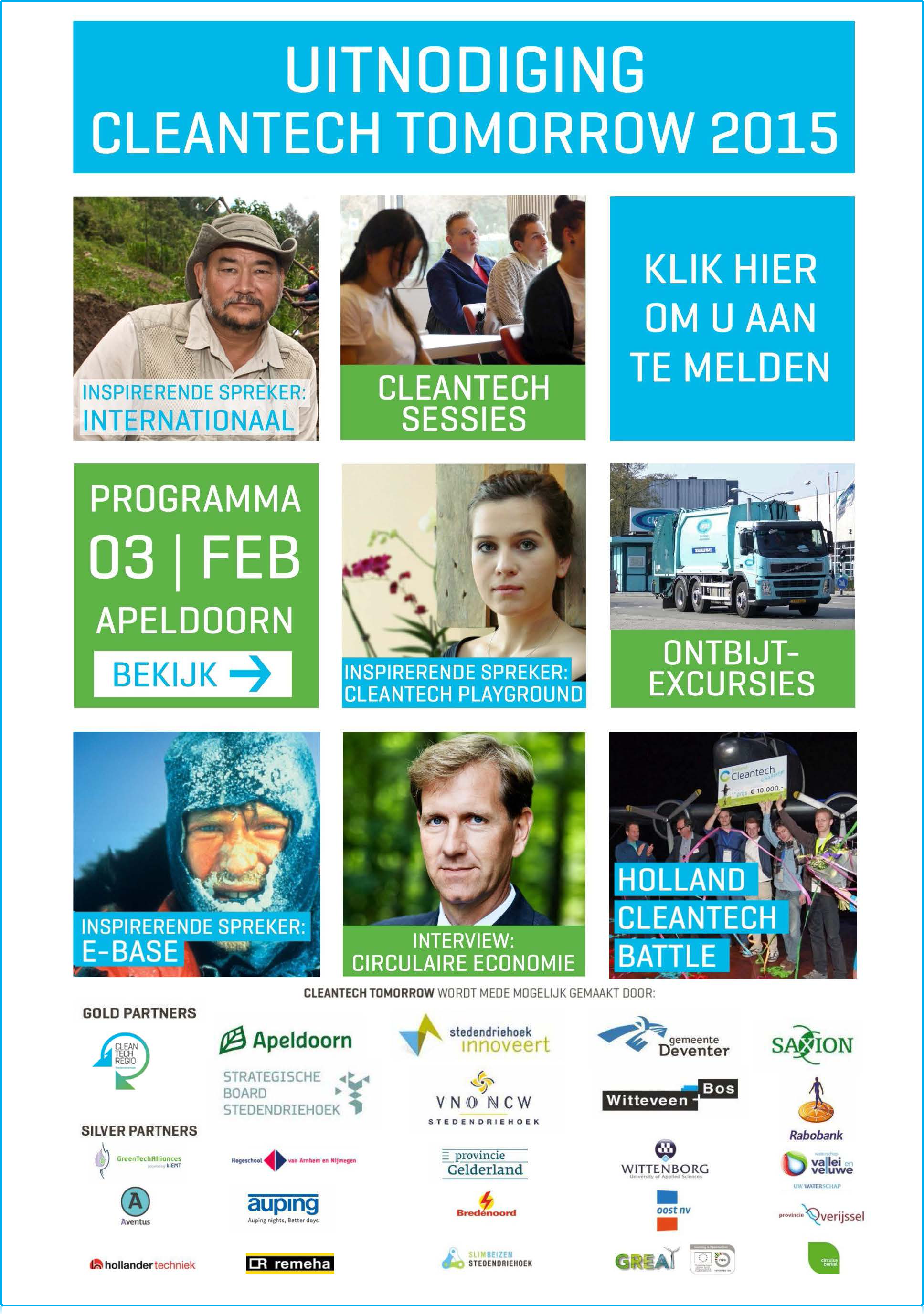 Wittenborg University at CleanTech Tomorrow 2015