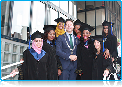 Graduation Wittenborg University 2014