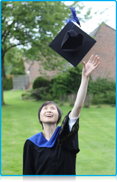 Debbie Kuang – receives honorary degree, Saturday 19th May 2012