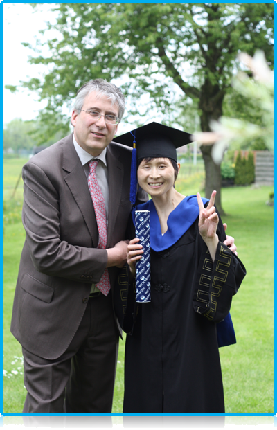 Kuang Hongjie – 'Debbie' receives honorary degree