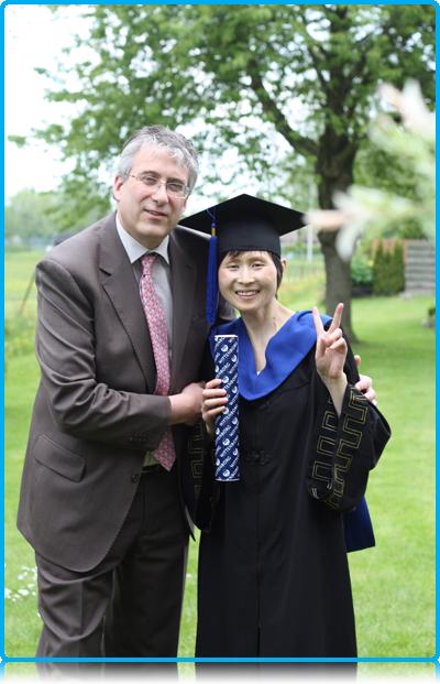 Debbie receives honorary degree