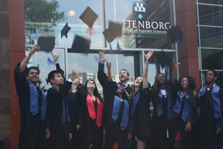 Wittenborg University Summer 2015 Graduates Celebrate