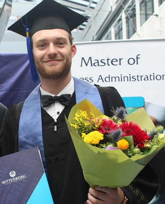 Wolters, who completed an IBA in Economics and Management at Wittenborg University