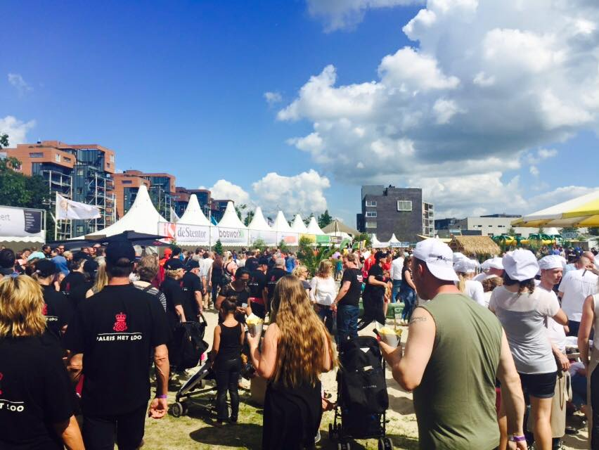 Wittenborg Students Survey More than 400 Visitors at the Apeldoorn Drakenboot Festival