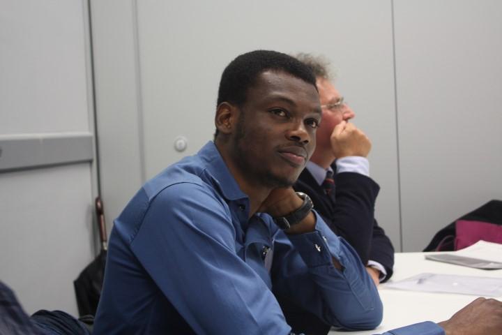 Adefolaju Ojengbede, a Nigerian student at Wittenborg