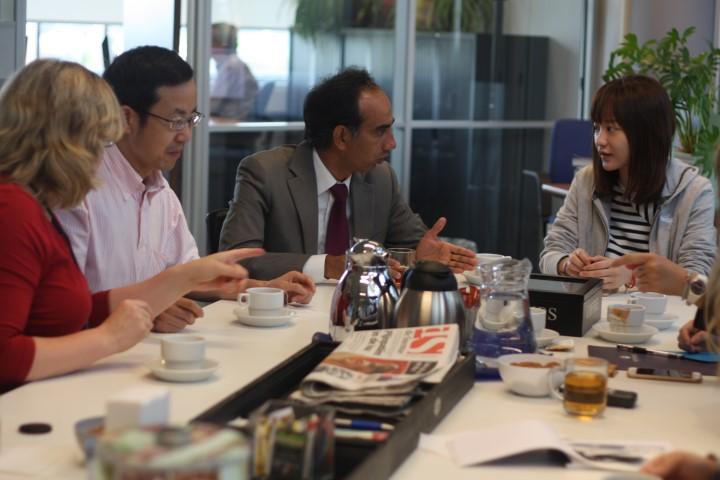 Wittenborg University and Shanghai Business School Teachers