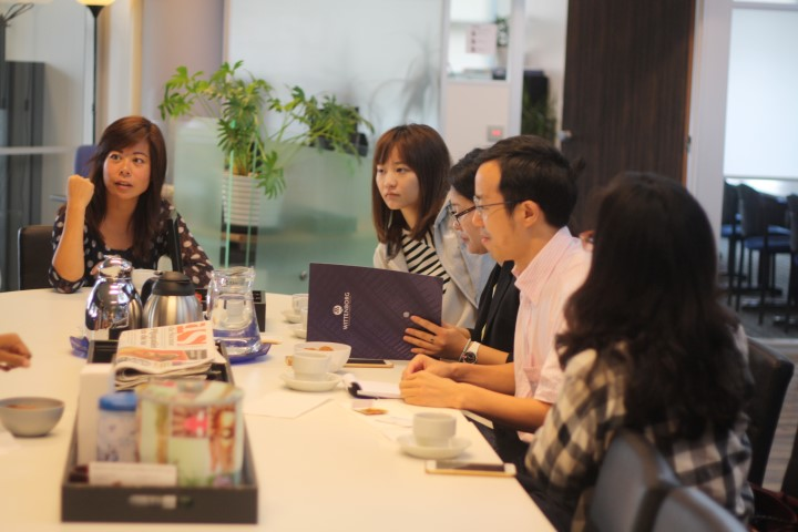 Wittenborg University and Shanghai Business School Teachers