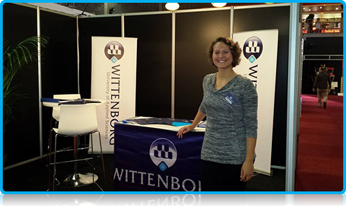 Meet Wittenborg today! - Wittenborg University Representative's at Education Fair Eindhoven