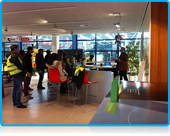 Wittenborg University students visit manufacturing company in Deventer as part of their 3rd project week