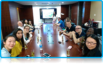 Wittenborg University Students on a Project Week in Shanghai Business School