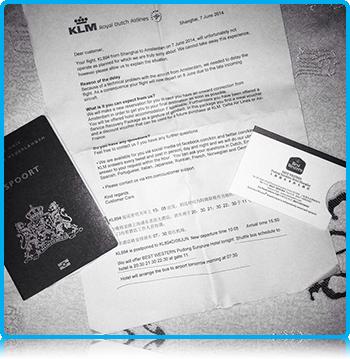 WUAS Students in Shanghai, 2014 - KLM Filght Delay
