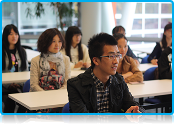 Wittenborg University today welcomed ten exchange students from the Shanghai Business School