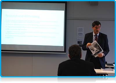 Wittenborg lecturer Teun Wolters' Working Paper series elicits lively debate among colleagues