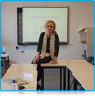 Wittenborg University Lecturer Dr Saskia Harkema Now Also Teaching Company Executives in Paris