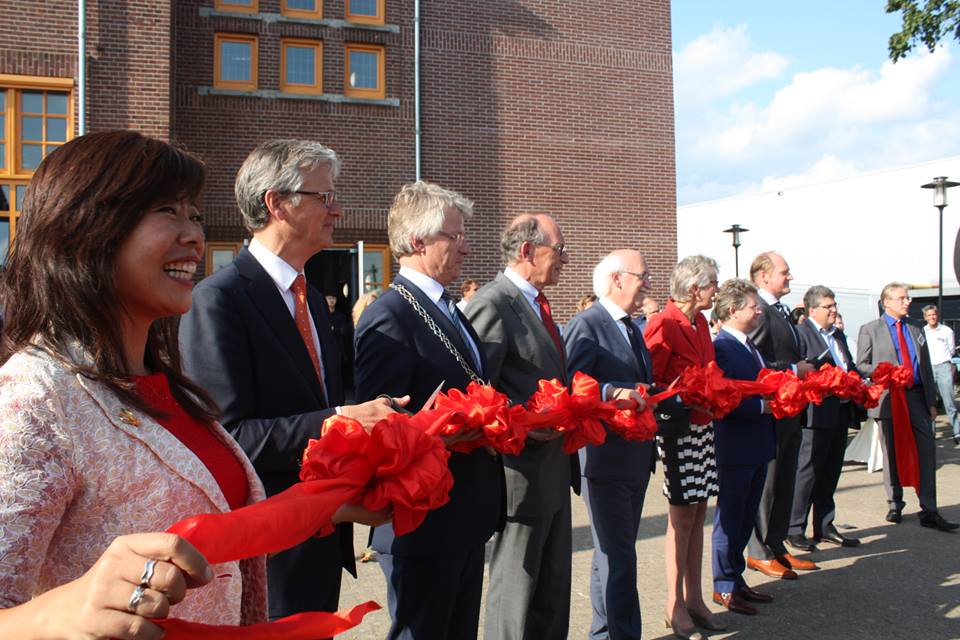 The opening of the Spoorstraat 23 Wittenborg University Campus
