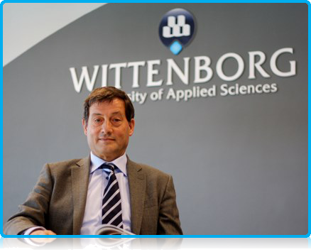 Dr Teun Wolters, senior lecturer and head of Wittenborg University's Research Centre, does not believe young people entering today's business market only care about making money.