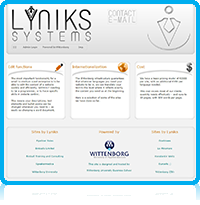 Lyniks Systems is a part of Wittenborg University Network - the Entrepreneurship Incubator at Wittenborg, that supports students and staff in new ventures and projects. Lyniks Systems manages the front and backend of easy-to manage and cheap to start websites for medium and middle-sized companies and businesses, as well as supporting student start-up companies. Lyniks Systems started producing websites in the late 1990's and currently manages around 20 different sites, including Wittenborg University, SpeakerMedica, BTC, and Pipeliner Sales.