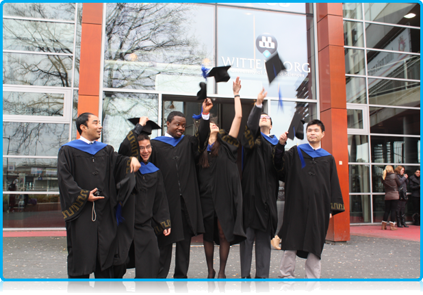 Wittenborg University Graduates April 2012 Celebrate