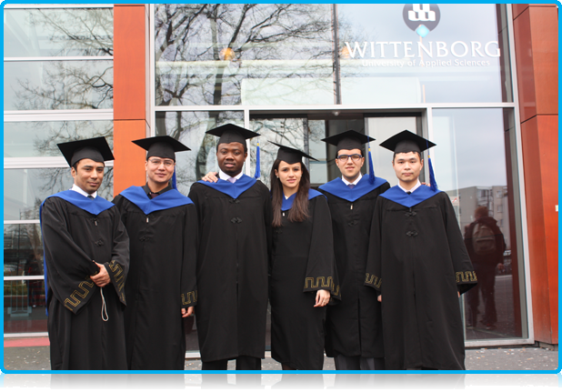 Wittenborg University Graduates April 2012