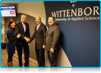 Angell Business School and Wittenborg University discuss their developing partnership.