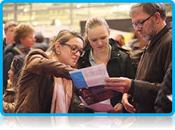 Wittenborg University Open Evening - Despite the chilly weather, hundreds of learners have been attending the Nxtlvl open evenings held in this week in Apeldoorn where Dutch institutes of higher education, like Wittenborg University, showcase what they offer potential students.