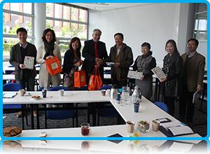 Shanghai Business School visits Wittenborg University