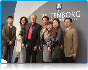 Shanghai Business School visited Wittenborg University today and held talks in which an exciting new student exchange partnership between the two institutes was provisionally agreed on