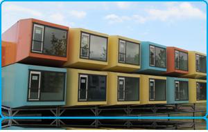 Spacebox studios for Wittenborg Students in in Apeldoorn