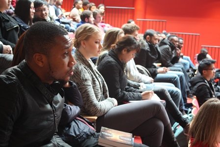 Wittenborg University Students at a seminar at the main campus in Apeldoorn