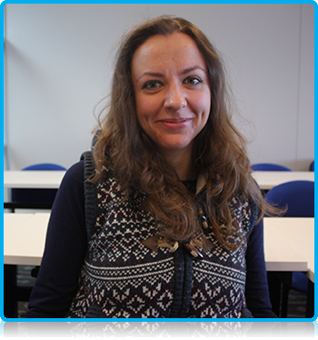 Iryna Bernatska, from the Ukraine, will do the Foundation Phase and then a Master of Science degree
