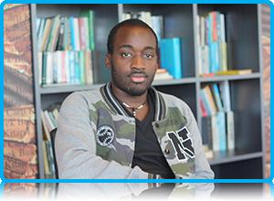 Ishebo Twijukye  - Wittenborg University managing assistant for Lekstraat