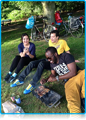 What will students at Wittenborg University be up to this summer? It seems many will indeed be traveling to far-away places. Whether it is back to their home countries to see family and friends or to exotic islands like Ibiza.