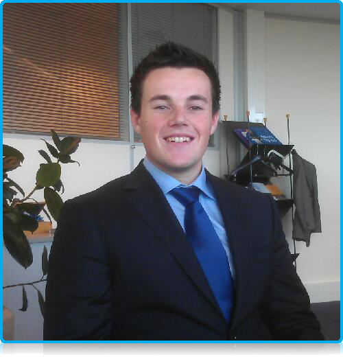 from work-placement to job Wittenborg student Rob Afman can stay!