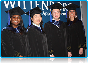 "Wittenborg University Bachelor IBA Graduation in February 2014 - ""Blood, sweat and tears..."""