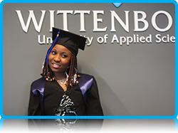 Wittenborg University Graduate Chika Roberts July 2013