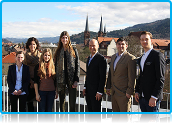 EuroBA Students to Freiburg on an introduction visit, as part of their Bachelors International Hospitality Management