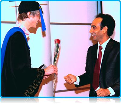 Dutch student Bas Heuver (23) graduated as Bachelor International Business Administration last month, after an intensive 3 year IBA programme.
