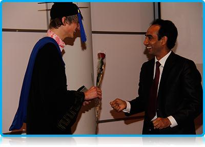 Winter 2012-2013 - Wittenborg University Graduates Celebrate